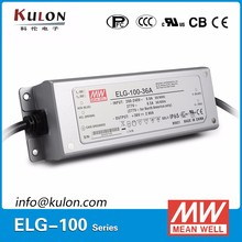 PFC function ELG-100-48 rated voltage 100W 48v DC led power supply