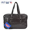 Simple Large Capability Waterproof Men High Quality PU Leather BSCI Wholesale Travel Bag Tote Bag For Business Travel