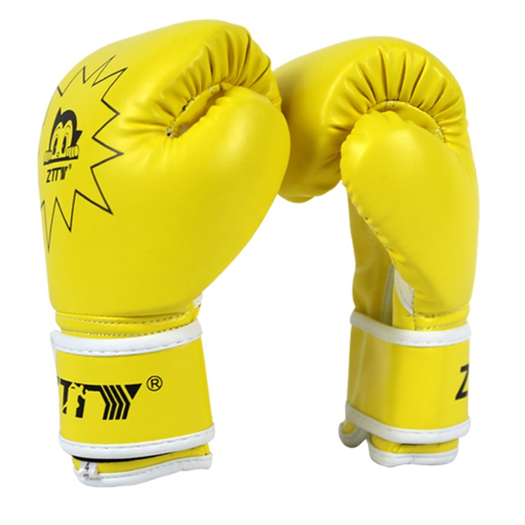 high quality pu leather breathable kids training boxing gloves for children