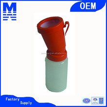 manufacturing red plastic non-return teat dip cup