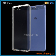 Eco-friendly 2mm transparent clear tpu case for huawei p10 plus