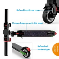 36v dual motors portable 2 wheel folding electric scooter for adult