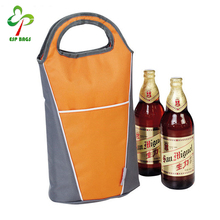 2 Pack folding insulated stubby beer bottle cooler holder bag keeps drink cold