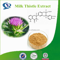 Pure Silymarin Milk Thistle Seed Extract /Water Soluble