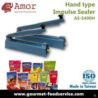 40 cm industrial handy hand type PE PP OPP PVC plastic bags manufacture use handmade cookie potato chips crackers sealer