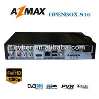 Good quality satellite receiver Openbox S16 with FULL HD-1080P, Ali3606C