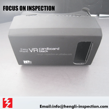 china zhejiang guangdong 3rd party VR google cardboard inspection service
