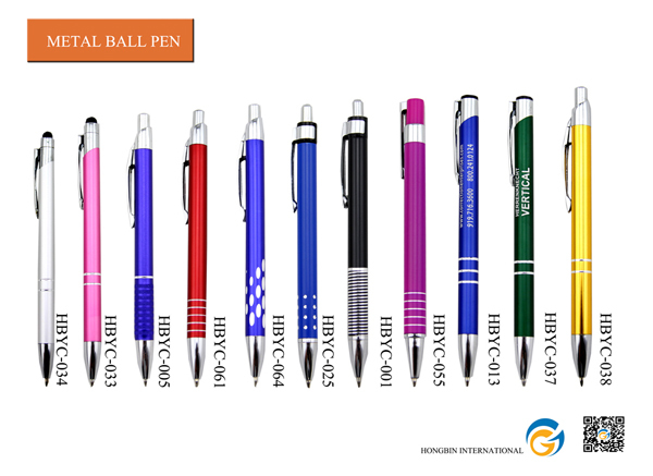 Promotion Can Shaped Retractable Ball Pen