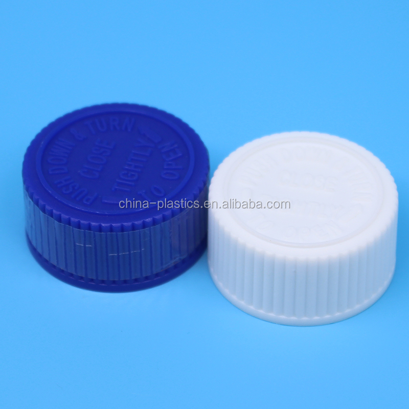 Best selling Plastic double-deck Safety Cap 28mm