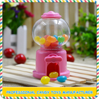 Wholesale cute colorful plastic machine shape toy candy
