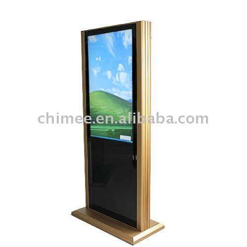 "42""floor standing LCD all in one pcTV"