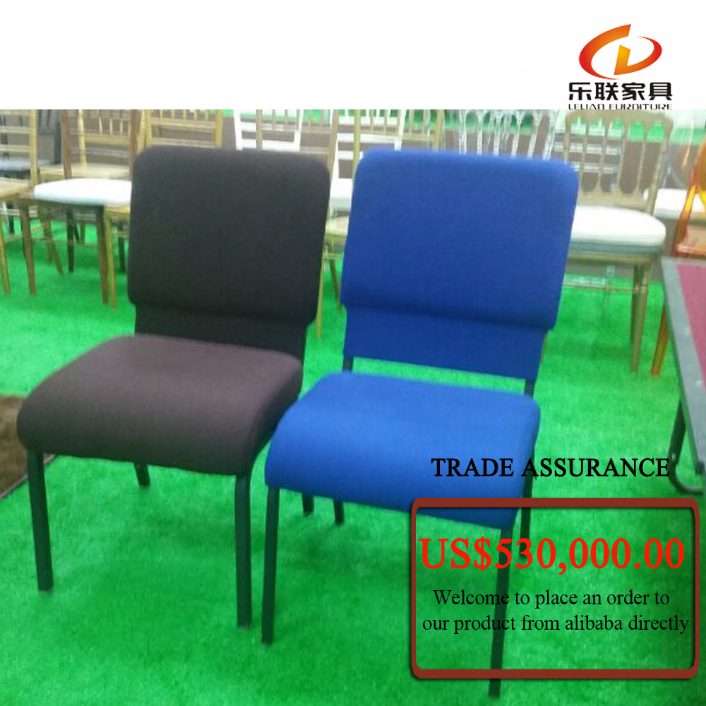 C11 Foshan factory stable quality church chair, fabric seating for church