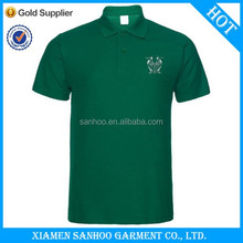 Latest Product New Style Short Sleeve Polo Office Fitness Customized Logo Design With Combination