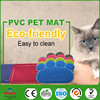 China Manufacturer 100% FDA silicone pet mat,Eco-Friendly safe pet toilet mat,Easy- Washable silicone pet floor mat