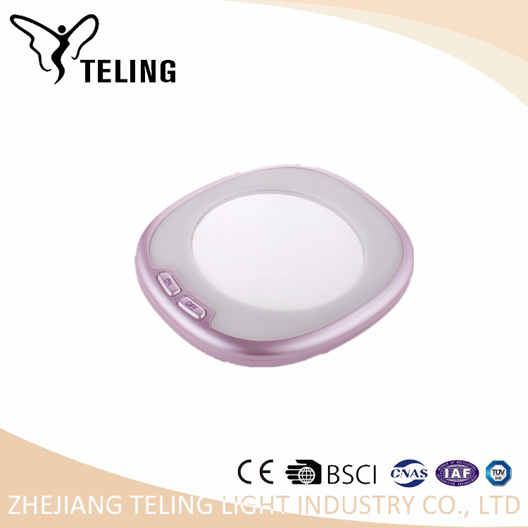 Lowest price good quality &service cosmetic mirror with light