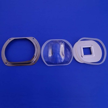 Customized various specifications degree Led Glass Optical Lens For reflector cob leds