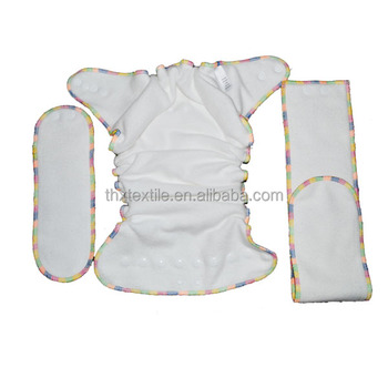 OEM Fitted Diaper Bamboo Cotton Fitted Diaper
