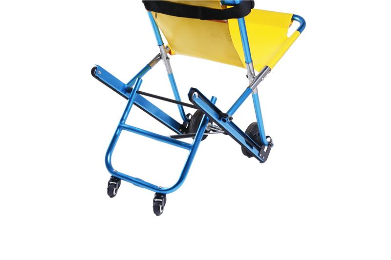 Wheelchair ramps tools for carpet evacuation stretcher