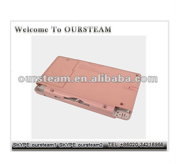 Pink Full housing Case Cover For NDSL Nintendo DS Lite