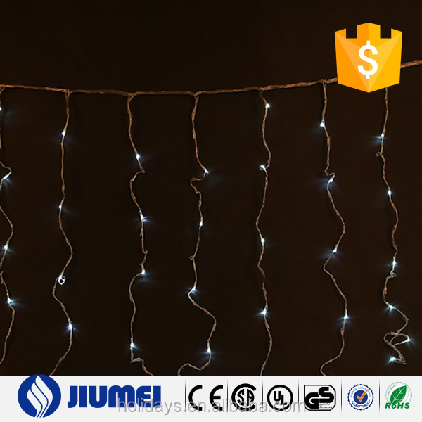indoor and outdoor decoration christmas curtain lights led