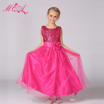 Baby children 11color 3D rose flower dress girl sleeveless sequin dresses summer princess bow floral chiffon skirt