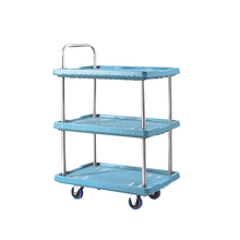 150KG go carts racing laundry foldable trolley