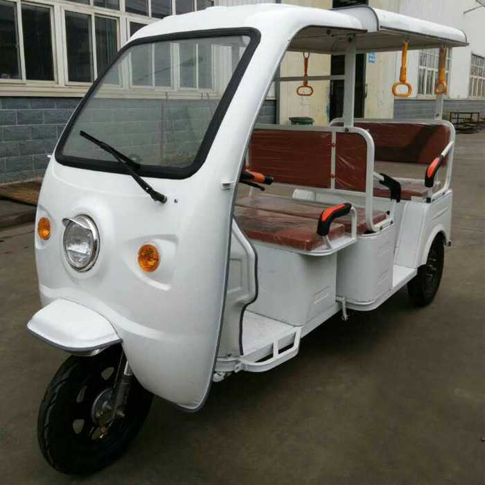 2017 Newest electric tuk tuk 6 passenger for sale European rules