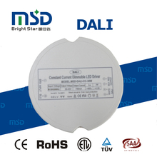 Round shape dali dimmable led transformer 6w 8w 9w 10w 12W 15W 18w 20W 25W 30W 36W 40W CC 700ma 900ma led driver