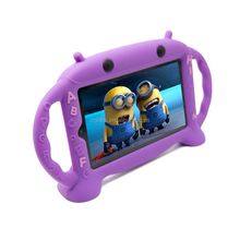 "Cute Robot Case for Kindle Fire 7"" Kids Loving Case for Kindle Fire 7"" with Stand Function"