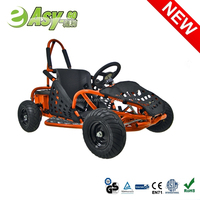 Hot selling 1000w 48V/12ah go kart frame sale with double suspension past CE certificate