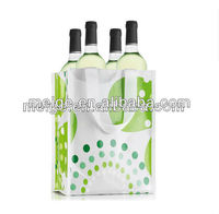 Eco-friendly wine bag/Gift wine bag/non woven wine carrier bag