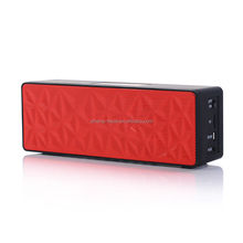 Wireless portable stereo mini bluetooth speaker Jambox style outdoor subwoofer two loudspeakers boombox
