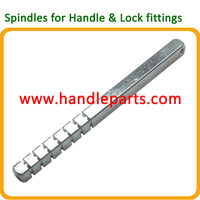 drilled and tapped lock spindle