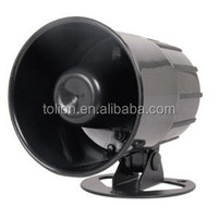 6 tone Speaker Design and ABS Material alarm siren speaker CAR/AUTO SECURITY ALARM SYSTEM SIREN