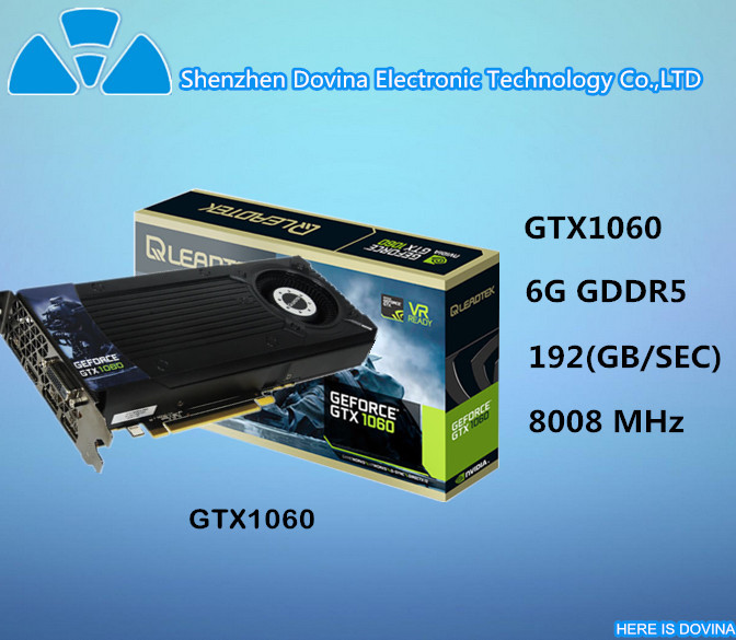 2017 hot sale computer VGA nvidia gefore GTX 1060 graphics card for mining