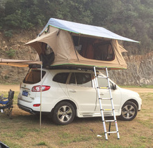 Easily mount roof top camper tents for car roof
