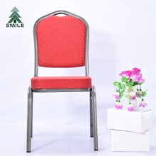 Hercules Series Furniture SY-08 Red Fabric Arched Back Banquet Chairs