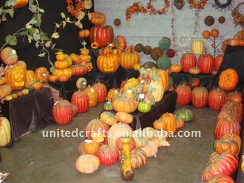HOT-SELLING !! PROMOTIONAL artificial foam pumpkin