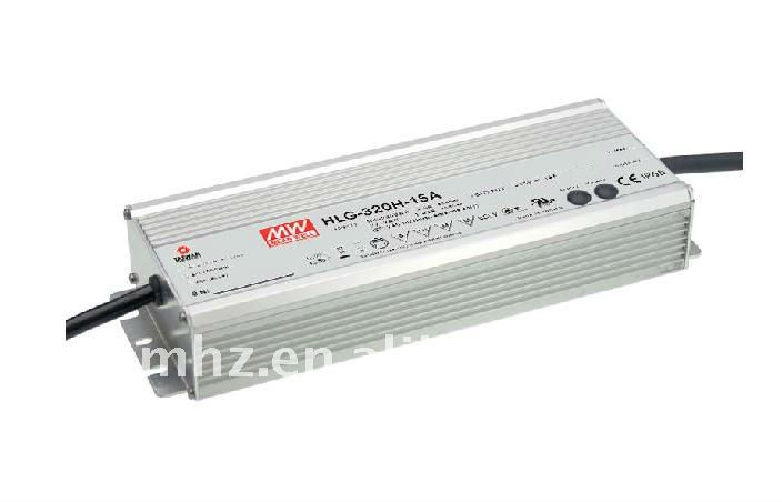 HLG-320H-42A led dimmable power supply 300w led power supply