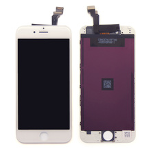 White and black lcd for iphone 6 oem lcd screen replacement 4.7 inch