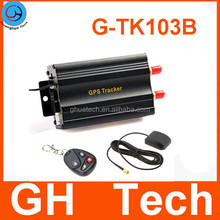 GH SIM card gps tracker tk103b with remote controler