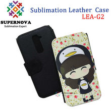 For LG G2 Sublimation Leather Case