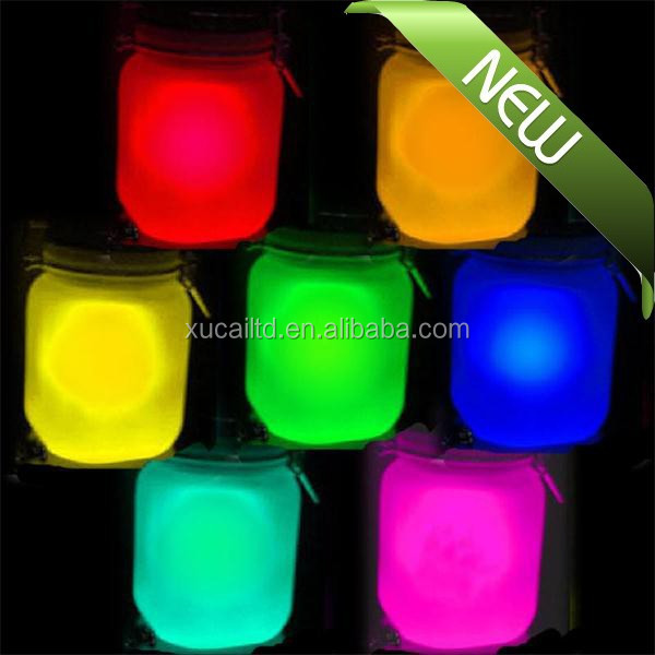 wholesale glow in the dark pigment/powder in bracelet