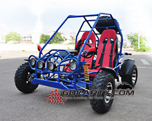 Hot selling 4 wheels dune buggy two seat go kart pass CE certificate