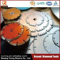 China Professional Brazed Diamond Tool Supplier Customized Diamond Saw Blades for Gem Cutting for Stone