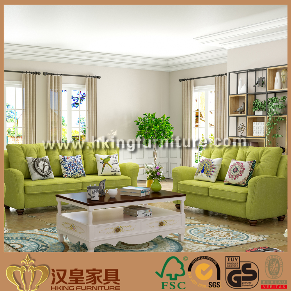 Wholesale Upholstery Multi Color Fabric Sofa, Contrast Color Fabric Sofa Set Online Sale