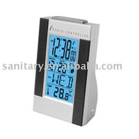 Fancy weather forecast controlled clock radio LED calendar LD30148