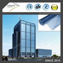 Solar window film for commercial room or building glass