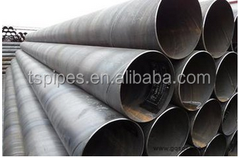Large OD steel pipe with material x56 x70, sprial welded pipe used in oil and gas industry