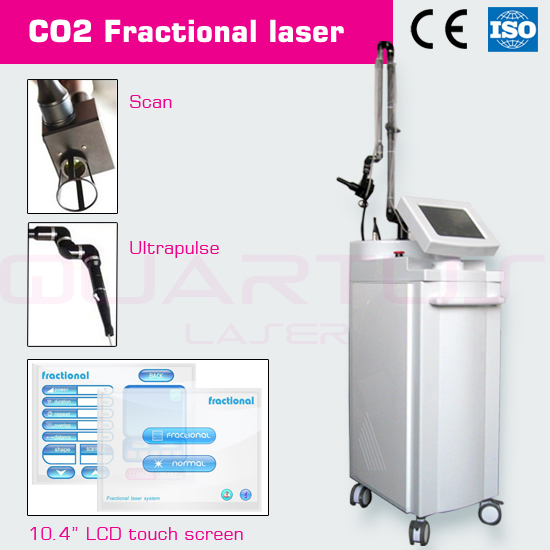 USA Fractional CO2 laser RF metal tube incontinence of urine
